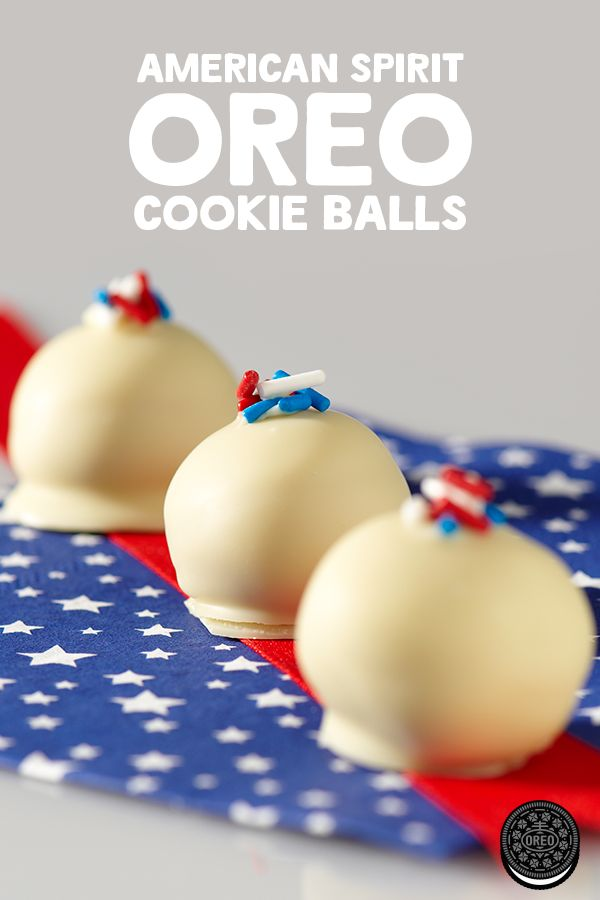 Get in the 4th of July spirit with these American Spirit OREO Cookie Balls. Perfect for any barbeque or backyard get together.