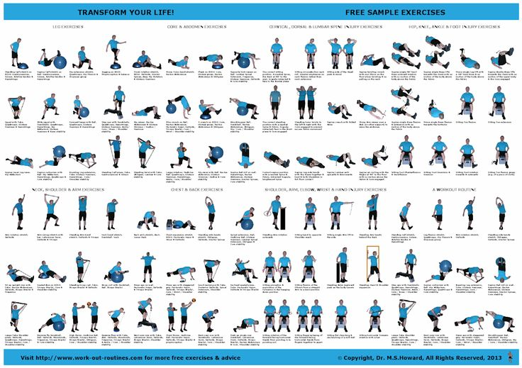 Free Exercise Poster