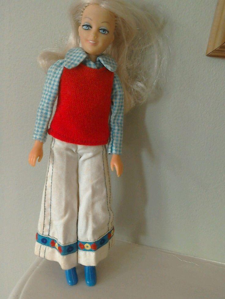 Vintage Hasbro Matchbox 'Britt' Disco Girl RARE 70's doll | 14.51+2.8