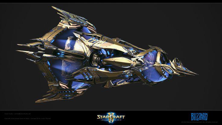 ArtStation - Starcraft II Legacy of the Void - Spear of Adun - InGame, Simon Fuchs