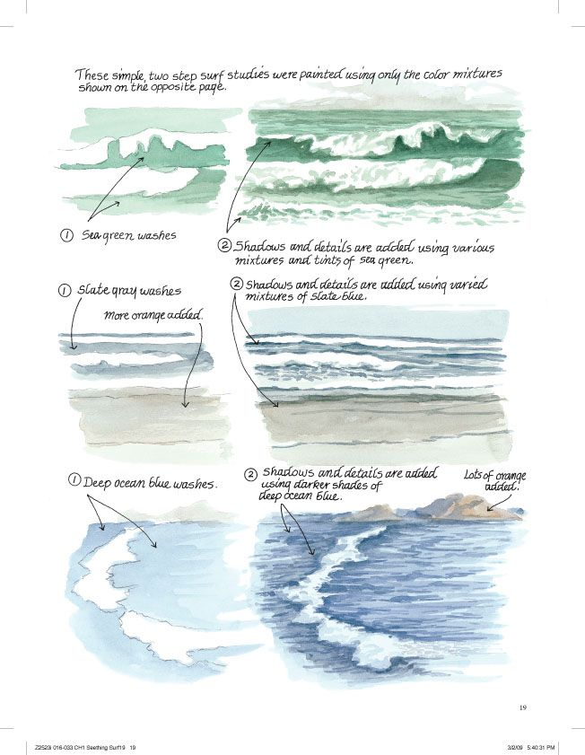 Jen' Picks: Paint the Sea with Claudia Nice | Artist's Network