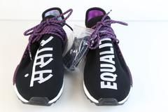 ec1502766c7 Adidas PW Pharrell Williams HU Human Race NMD HOLI MC Core Black Purple  AC7033 (NO Codes)