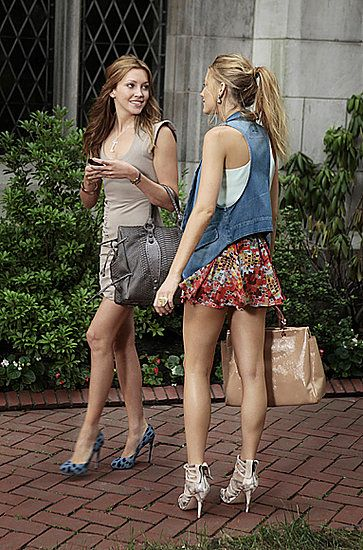 Blair Waldorf and Serena Van Der Woodsen style | POPSUGAR Social this is from an article I'm aware she is not Blair