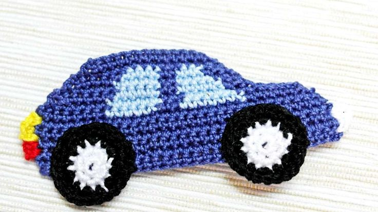 How To Make A Crocheted Car Applique - DIY Crafts Tutorial - Guidecentral