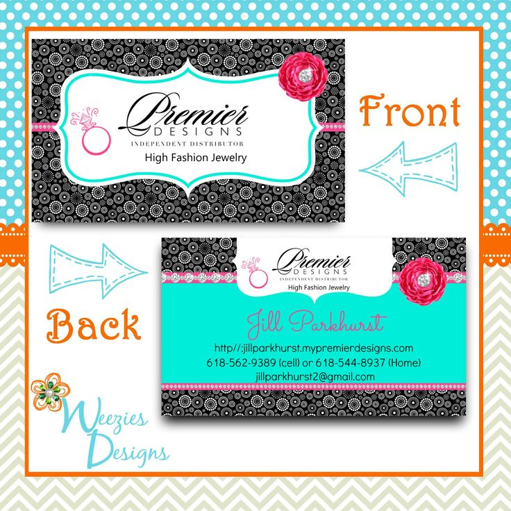 Business cards for premier designs jewelry best business for Premier designs jewelry business cards
