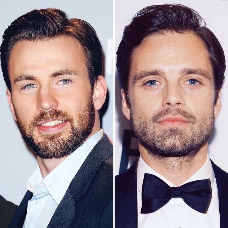 """good beard concept  #ChrisEvans #SebastianStan #beard"""