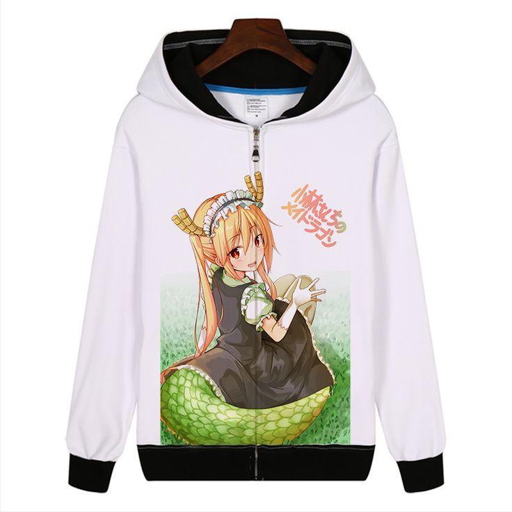 Gratis verzending Anime Miss Kobayashi's Dragon Maid Cosplay Unisex Zppier Hoodies Sweatshirts in Gratis verzending Anime Miss Kobayashi's Dragon Maid Cosplay Unisex Zppier Hoodies Sweatshirts van Anime Kostuums op AliExpress.com | Alibaba Groep
