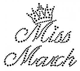 Miss March | Maand Miss | glittermotifs