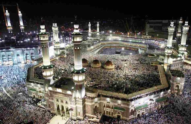 Gambar Kota Mekah - Masjidil Haram