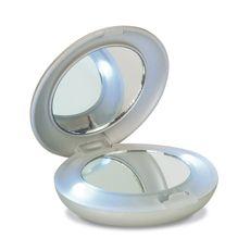 #Spiegel met LED-verlichting #mirror #make-up    - Bedrukken met eigen #logo of tekst op Bedrukken.nl