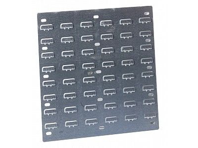 Small Galvanised Steel Louvered Panel for Small Parts Storage Bins