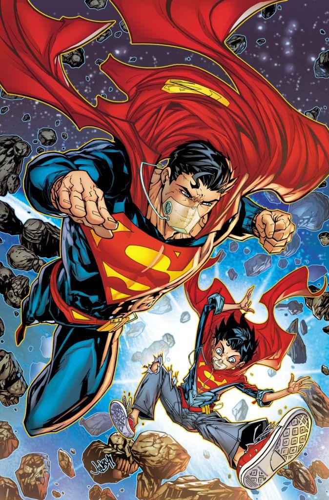 #Superman #Superboy by Jonboy Meyers