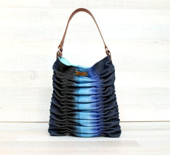 Medium Poetry Shoulder Bag / Wool Bag / genuine by bayanhippo