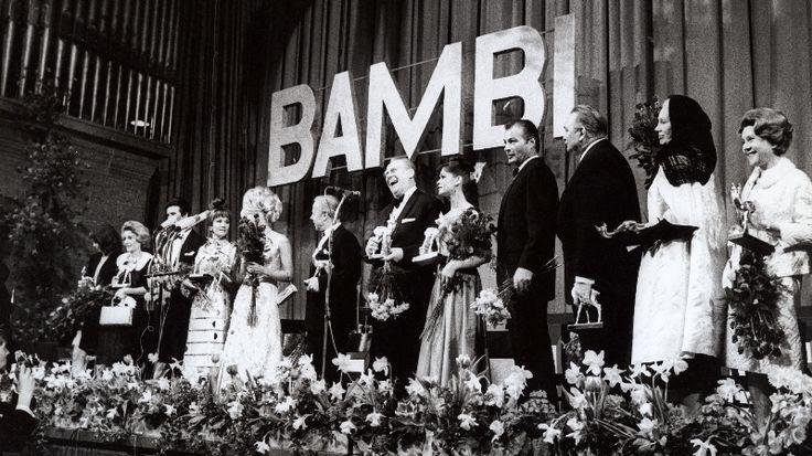 Bambi Awards 1967 (with Pierre Brice, Liselotte Pulver, Heinz Rühmann, Gert Fröbe, Lex Barker, Gustav Knuth, Elisabeth Flickenschildt)