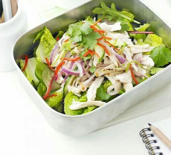 Nice and refreshing, #Asian #chicken #salad