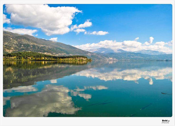 another beautiful shot of Pamvotida Lake