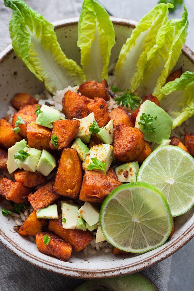 Buddha Bowl mit gerösteten Süßkartoffeln Rezept9