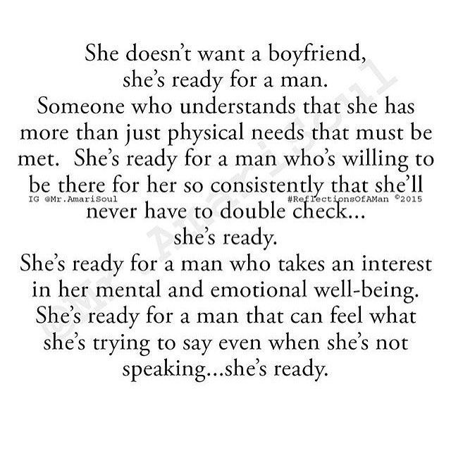 So very true. Just something simple. Someone who accepts me and doesn't just argue