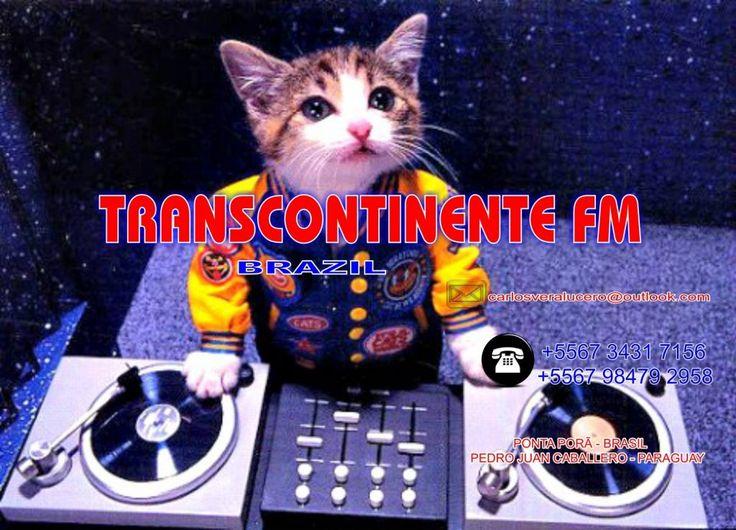 SEJAM BEM VINDO AO NOSSO SITE DA TRANSCONTINENTE FM BRAZIL, WELCOME…