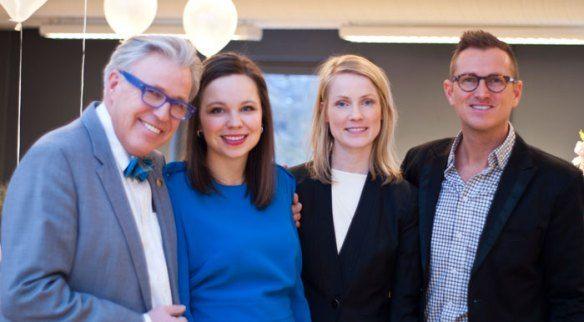 I tillegg til vår egen sjefsdesigner Teresa Bergerud var Finn Schjøll, Kristive Five Melvær, Ann Viola Ulvin og Halvor Bakke i Oslo for å pr...
