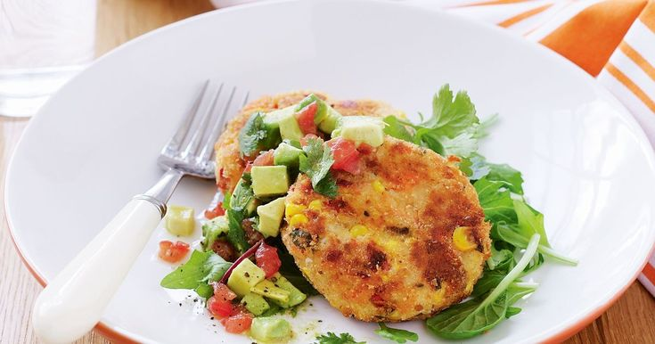 Mash, canned fish and a flavoursome mix of vegies makes for great-tasting patties.
