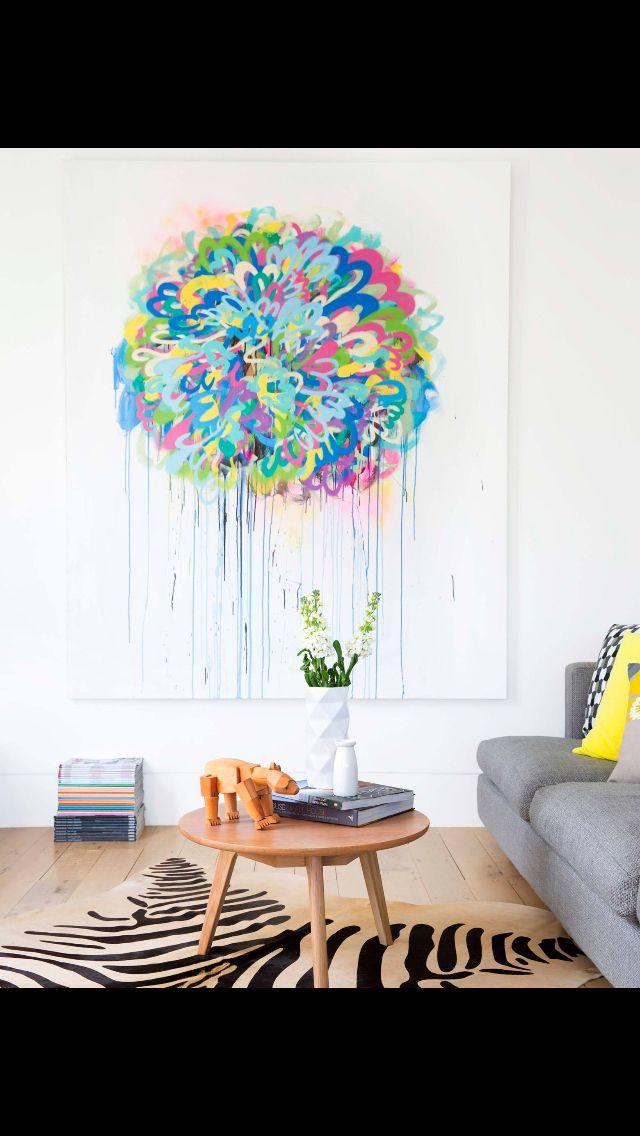 YH&G Nov 14 - Living space, art by Matt Dowman