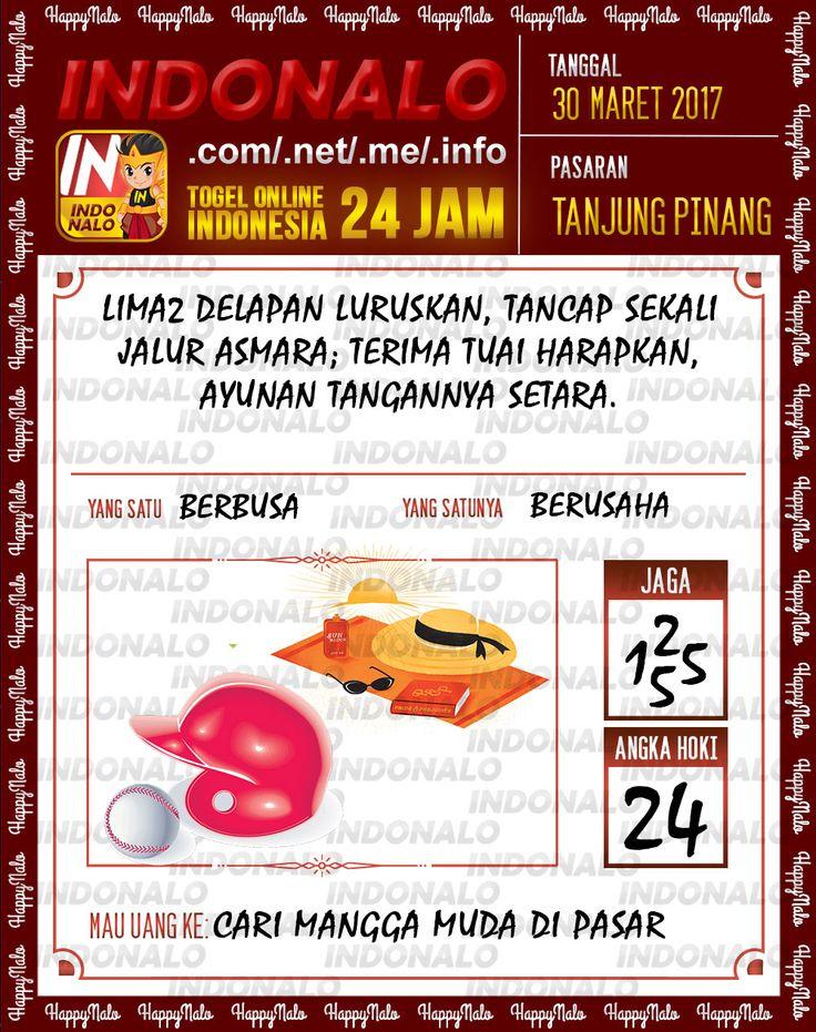 Angka JP 2D Togel Wap Online Indonalo Tanjung Pinang 30 Maret 2017