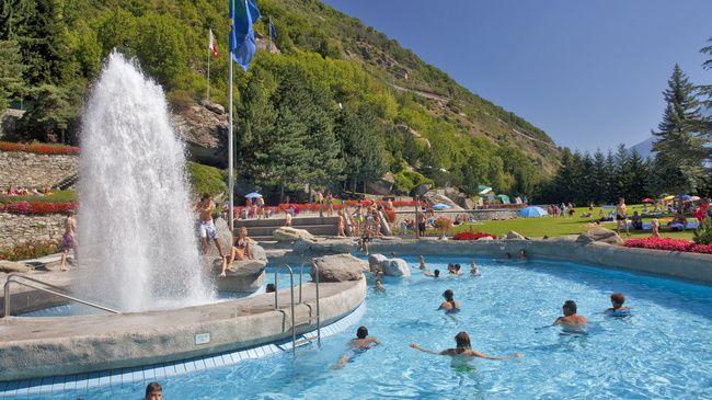 Bagni termali di Brigerbad - Svizzera Turismo vallese☑