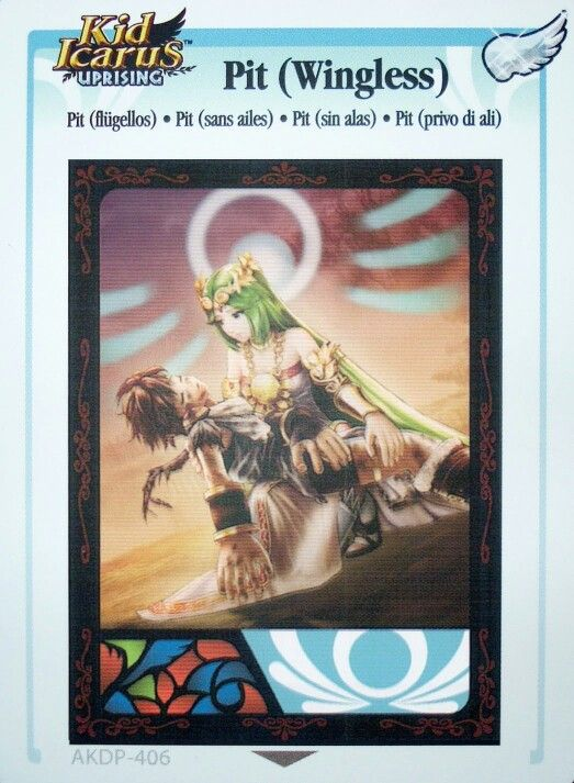 Kid Icarus Uprising Card -- this chapter made me cry I'm not even kidding