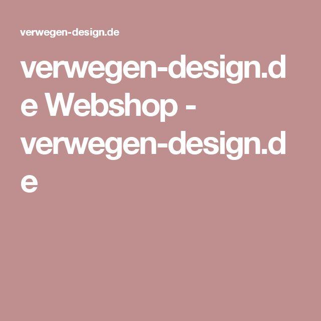 verwegen-design.de Webshop - verwegen-design.de