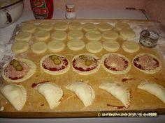 Pizza kapsičky * se šunkou a sýrem