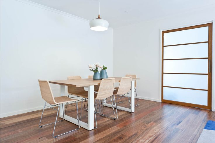 Dining style.  Renovated dining space.