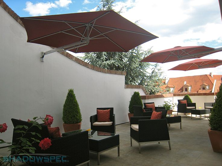 SHADOWSPEC - Global Suppliers of Luxury Outdoor Umbrella Systems. A SHADOWSPEC garden umbrella is the perfect combination of form and utility, with the added bonus of durability. Look at our range of umbrellas today to find a solution for your outdoor area or garden! Click below for more information: www.shadowspec.com (USA) www.shadowspec.com.au (Australia) www,shadowspec.co.nz (NZ/Other)