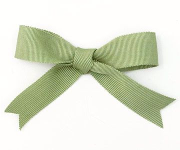 The classic bow is still a timeless gift topper.