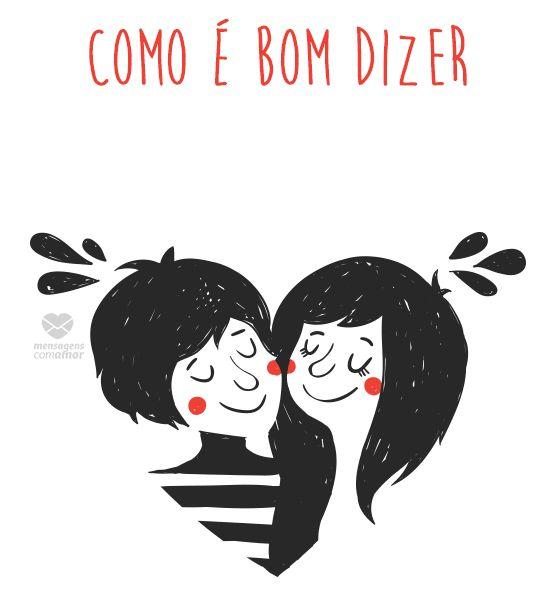 #mensagenscomamor #gifs #giphy #amor #casais #euteamo #frases #fofos