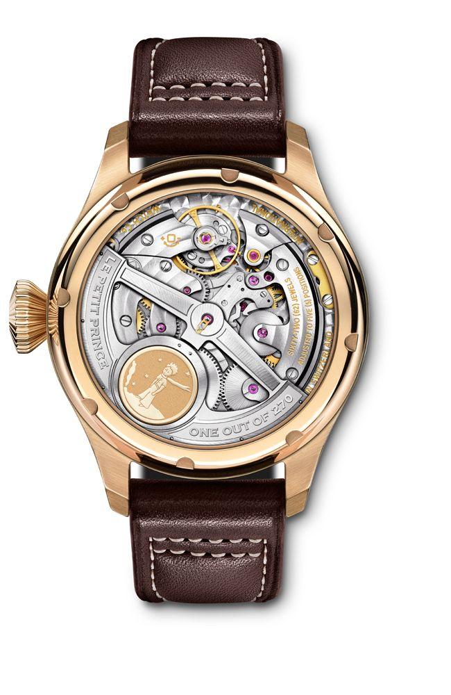 Big Pilot's Watch Calendario Perpetuo Edition «Le Petit Prince», » (ref. IW502802)    http://www.orologi.com/news/iwc-celebra-il-piccolo-principe