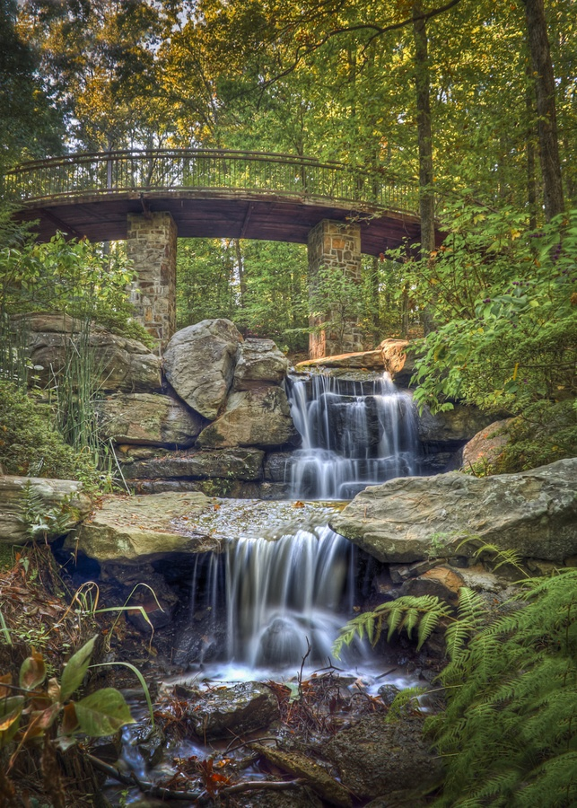 @ Garvan Woodland Gardens, Hot Springs, AR