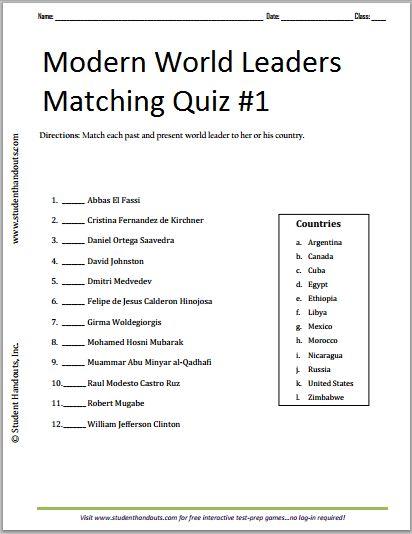 7th grade history worksheets pdf
