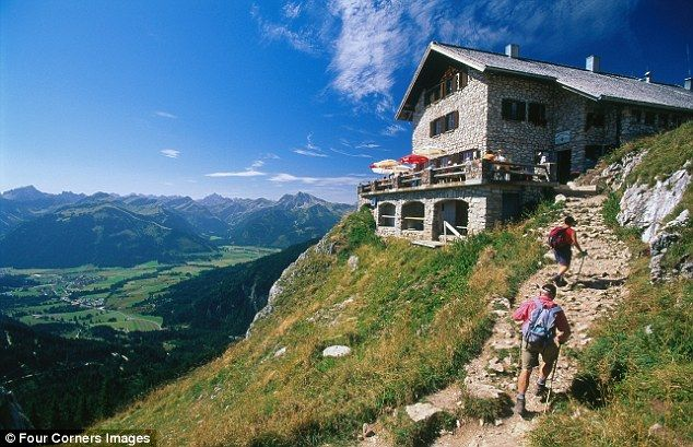 Austria walking holidays: On foot in Mayrhofen | Daily Mail Online