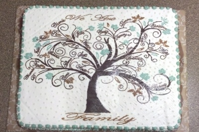 Family Tree cake By jkaykakes on CakeCentral.com
