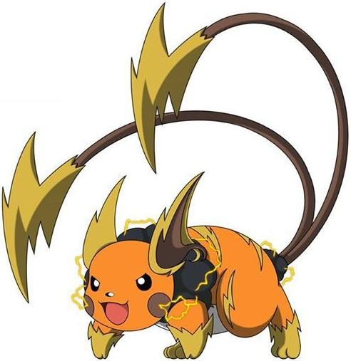 Pokemon mega raichu break images pokemon images for Boden pokemon