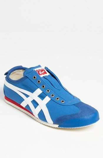 Onitsuka Tiger™ 'Mexico 66' Slip-On (Men) available at #Nordstrom size 10.5 blue