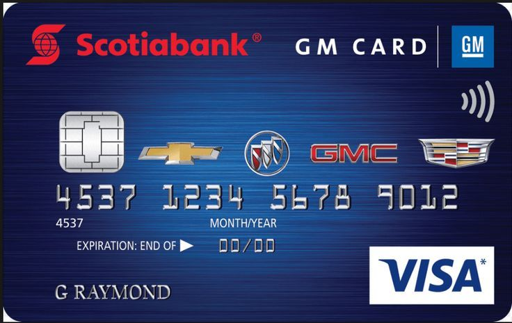 The Gm Card Is Issued By Capital One The Card Deals With Consumer