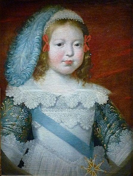 Philippe de Champaigne - Portrait du Dauphin, futur Louis XIV. 1642-1643.