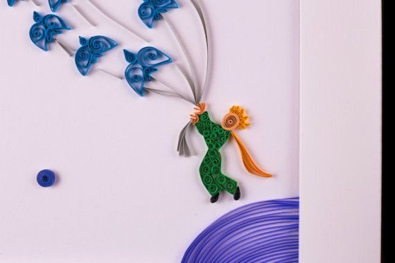 Quilled Paper Art: The Little Prince Quilling by SoulfulQuilling
