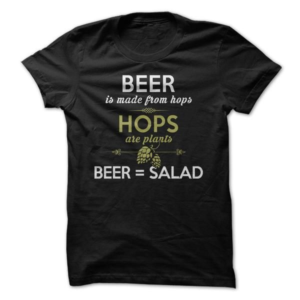 Share your love of beer with these funny t-shirts & hoodies. Whether you like to drink or brew (or both!), we've got styles for both men & women to choose from.