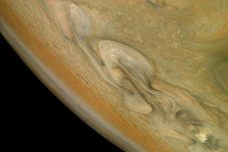 By Jove! Jupiter Storms Rage in New Juno Photo