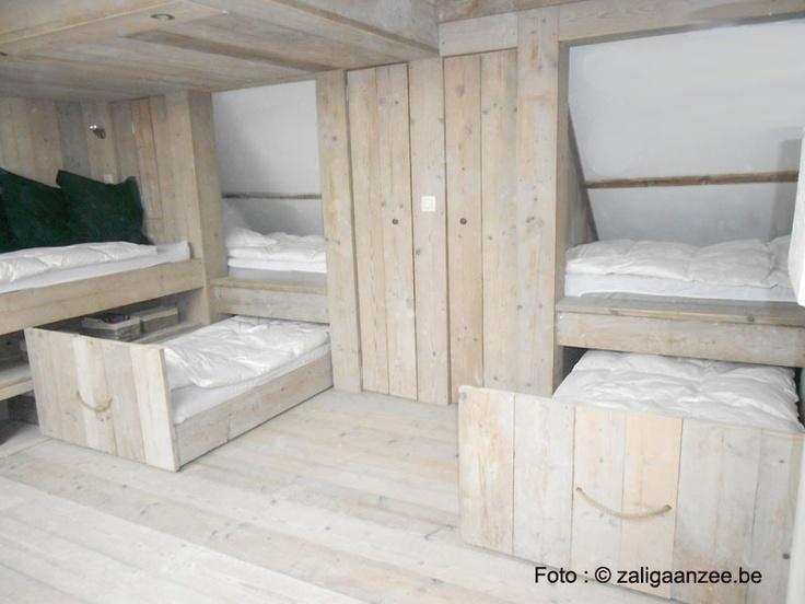 uitschuifbedden-zolder | vakantiehuis voor 12 tot 14 personen in Knokke