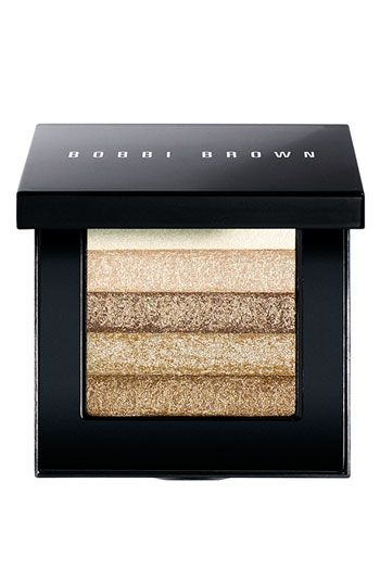 Awesome shimmer compact for face and eyes...super versatile. Highlights like nobody's business and never vegas-looking.
