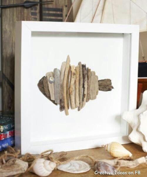 Drift wood fish
